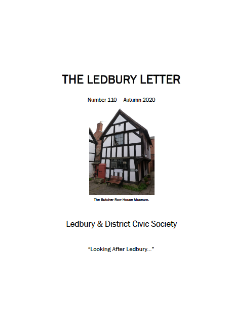 The front cover of the Spring 2020 edition of The Ledbury Letter